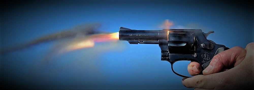 Smith & Wesson Model 36 Firing